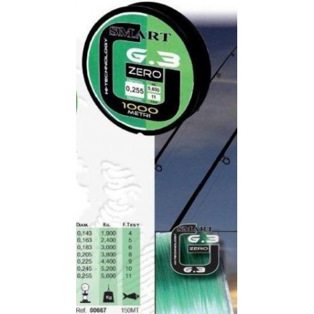 Filo Maver Smart Zero G3 300mt